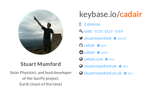 My Keybase Profile